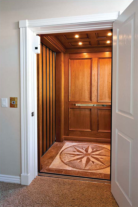 Image gallery home elevators for Elevator house
